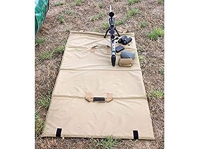 Crosstac Precision Range Shooting Mat, Coyote Brown