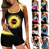 Mossimo Bikini Top Super High Waisted Swimsuit Blugibedramsh Tankini Lime Green Sexy One Piece Swimsuits for Women Swimsuit (Purple 6,XXXXL)