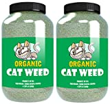 Cat Weed Organic Catnip has Maximum Potency Premium Blend Nip That Your Cats to Go Crazy Over (8 Cups)