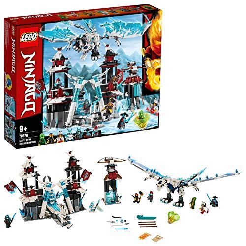 Lego 70678 NINJAGO Festung im ewigen EIS, Set mit Eisdrachen-Spielzeug, Meister des Spinjitzu Spielset