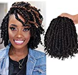 7 Packs10 Inch Pre-twisted Passion Twist Crochet Hair Pre-looped Braids For...