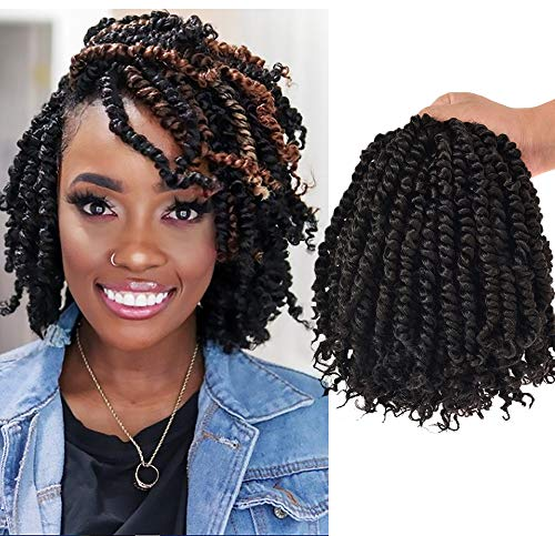 7 Packs10 Inch Pre-twisted Passion Twist Crochet Hair Pre-looped Braids For Black Woman Synthetic Hair Extensions