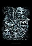 for-collectors-only Slipknot Fahne Flagge Broken Glass