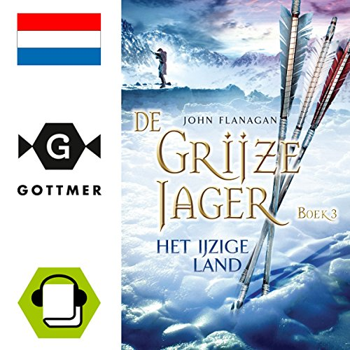 Het ijzige land audiobook cover art