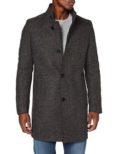 CINQUE CIHILTON Wollmischungs-Mantel, Herren, Grau 46 EU