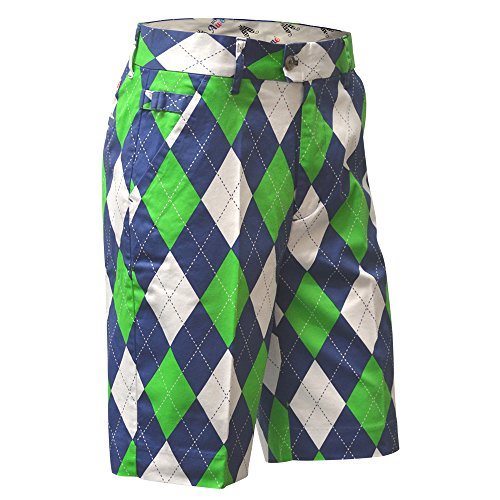 Royal & Awesome Short De Golf Homme Blues On The Greens Mirage Taille 32-pouces