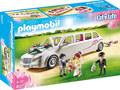 PLAYMOBIL City Life Limusina Nupcial, A partir de 4 Años (9227)