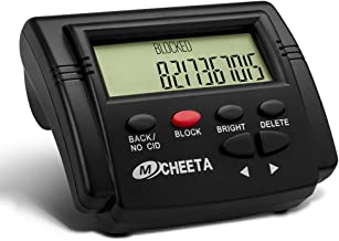 Call Blocker for Landline Phones, MCHEETA V4000 Premium Phones with Call Blocking, One Touch Number Block Device, Block Unwanted Robocalls and Nuisance Calls