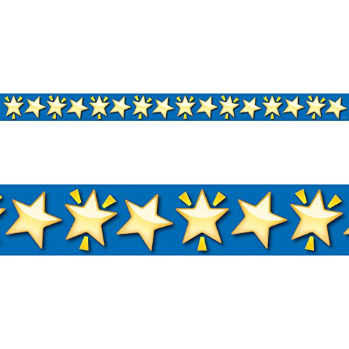 Creative Lehre Press Bordüre Emoji-Fun Shining Stars Grenze, CTP 2471mit