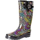 SheSole Waterproof Garden Rubber Rain Boots for...