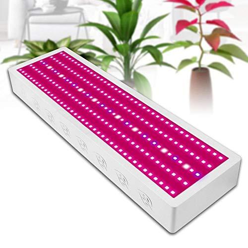 ZJING 1000W LED Pflanzenlampe Knob Anpassung Double Core Pflanzenlicht Wachstumslampe Einstellbar Volles Spektrum Zimmerpflanzen Gemüse Und Blume