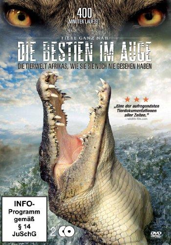 Die Bestien im Auge - Die Tierwelt Afrikas, wie Sie sie noch nie gesehen haben. [2 DVDs]