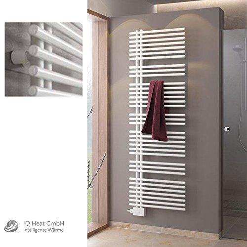 BEMM Asymo Design Badheizkörper weiß - Heizkörper Handtuchwärmer Mittenanschluß (H 1777 mm x B 600 mm)