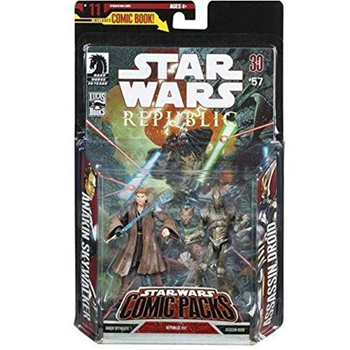 Star Wars Expanded Universe Comic Pack Action Figure Set: Anakin Skywalker and Assassin Droid