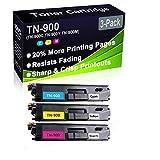 Cartuccia di toner compatibile con stampanti laser HL-L9200 HL-L9300 (alta capacità) per stampanti Brother TN-900 (TN-900C TN-900Y TN-900M)