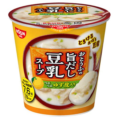日清食品 とろけるおぼろ豆腐 おとうふの旨だし豆乳スープ 17g×12(6×2)個入