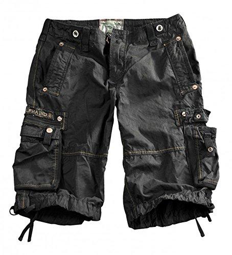 Alpha Industries Terminal Shorts, Größe:32;Farbe:Black