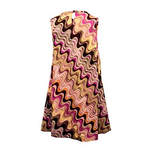 Missoni Kleid mit Wellenmuster - bunt, Größe:10 Jahre / 140