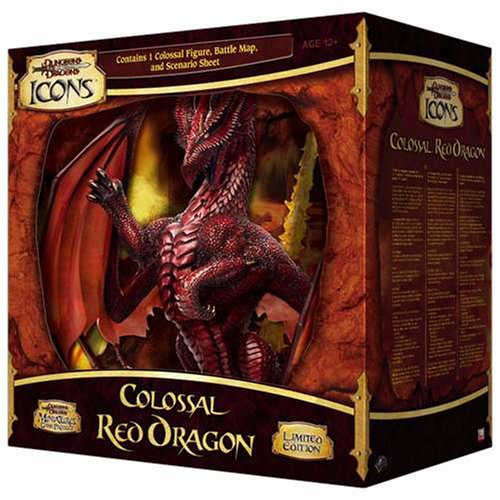 Colossal Red Dragon (Dungeons & Dragons Icons)