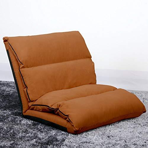 WRJY Silla de Piso de Tatami, sofá Plegable sofalazy Sofa-Beds sillón Tumbona reclinable multifunción-E