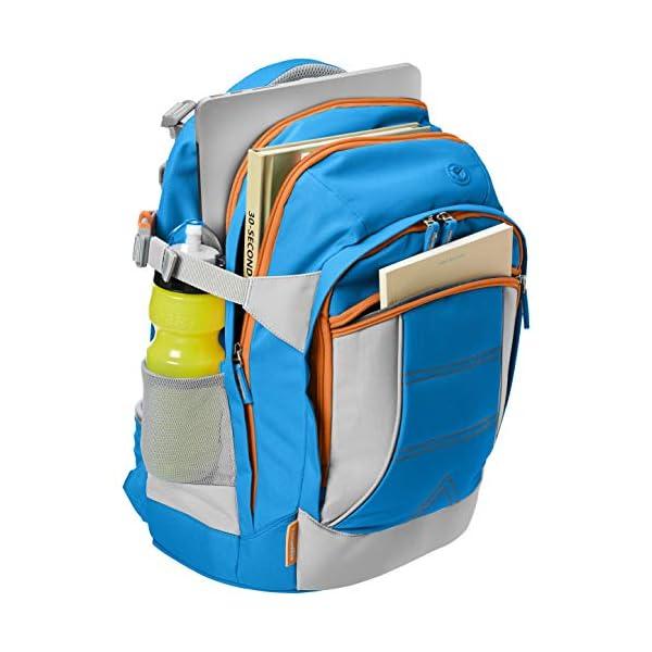 51w9mQVTxQL. SS600  - AmazonBasics - Mochila ergonómica (azul, 30 litros)