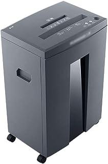 商業用セキュリティシュレッダー家庭用低騒音クラッシャー紙やすりのシュレッダー二重入り口壊れたディスク?カード (Color : Silver, Size : 35*25.3*55cm)