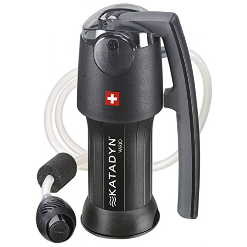 Katadyn Vario Water Filter, Dual Technology Microfilter for...