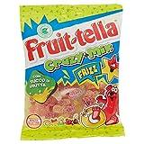 Fruittella Crazy Mix Frizz Caramelle Gommose, Gusto Frutti Assortiti Frizzanti con Succo d...