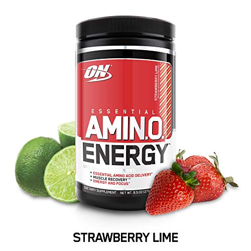 Optimum Nutrition Amino Energy, Strawberry Lime, 30 Servings, 9.5 Ounce (1 Count)