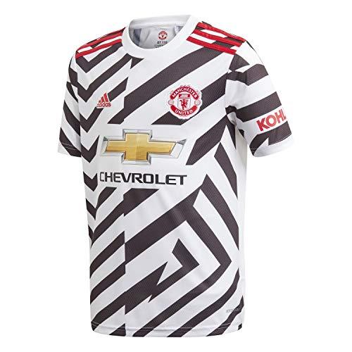 adidas Manchester United Temporada 2020/21 MUFC 3 JSY Y Camiseta Tercera equipación,...