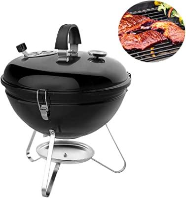 LiRongPing Charcoal go-Anywhere Grill 14-Inch Portable Grill (Size : 45.5)