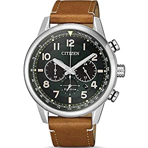 Reloj de Cuarzo Citizen of, Eco Drive B620, 43 mm, Correa de Piel, CA4420-21X