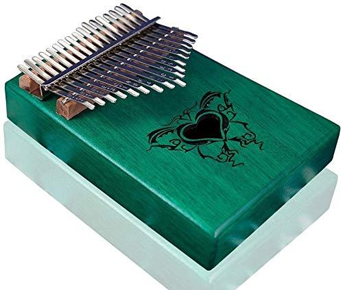 Kalimba Piano De Pulgar Thumb Piano Marimba Mahogany 17-Key...