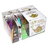 English Tea Shop kleine Teebox mit Schleife gefüllt mit 12 Pyramidenbeutel