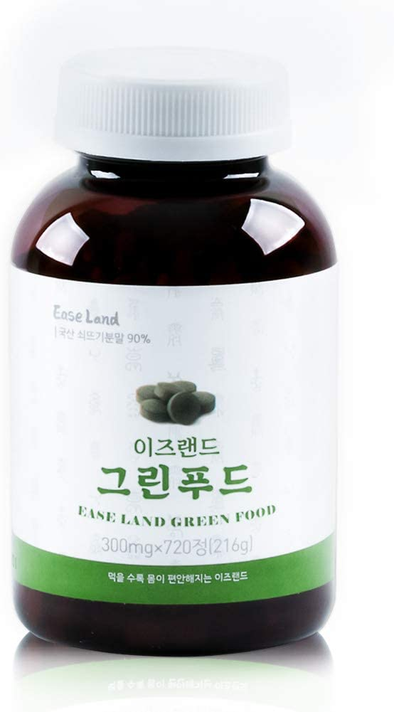 EaseLand GreenFood Horsetail Silica Columbus Mall Very popular Tablet 720 Supplement 216