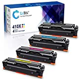 LxTek Compatible Toner Cartridge Replacement for HP 410X CF410X CF411X 410A to use with Color Laserjet Pro MFP M477fnw M477fdn M477fdw M452dw M452dn M452nw,Super High Yield Per Cartridge Yield:5,000+