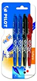 Pilot Spain Frixion Ball - Bolígrafo borrable, 4 unidades, multicolor