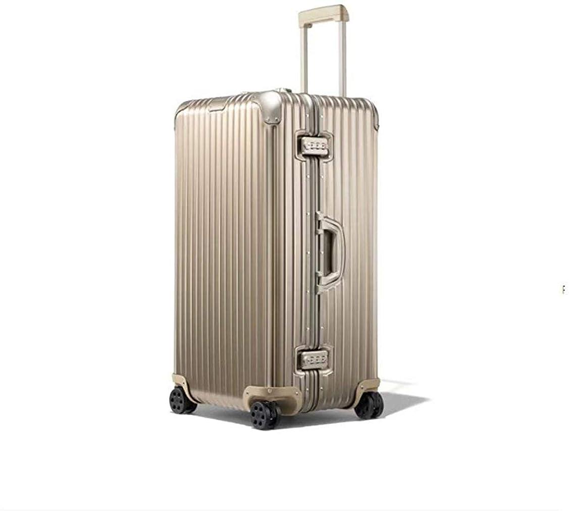 請負業者愛されし者姿を消す1年保証 スーツケース アルミ?マグネシウム合金ボディ キャリーケース 丈夫 キャリーバッグ 軽量 TSAロック付 大容量 静音 ビジネス 旅行用品 出張 大型