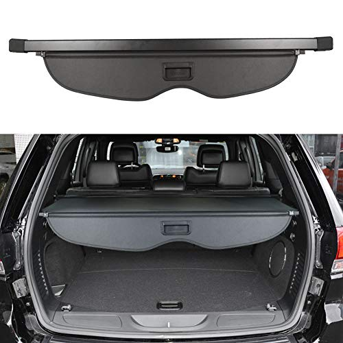 BOPARAUTO Cargo Cover for Jeep Grand Cherokee Accessories 2011-2020 2021 Rear Trunk Shade Cover