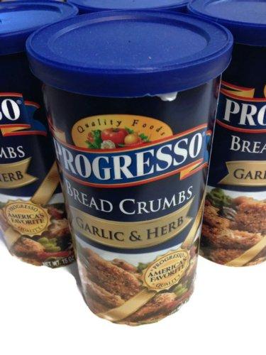 Progresso Bread Crumbs Garlic & Herb - 4 Pack