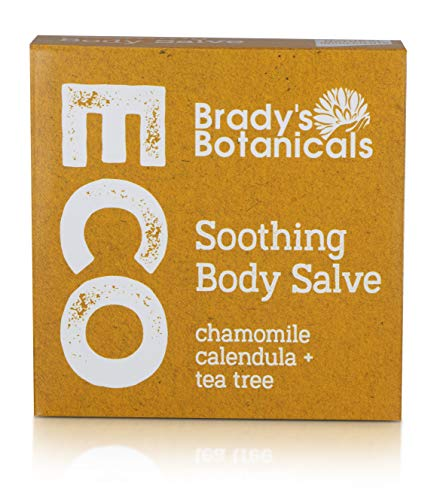 Body Salve 100% Natural, Vegan, Palm Oil Free, Plastic Free, Handmade in the UK, Fully Recyclable Packaging