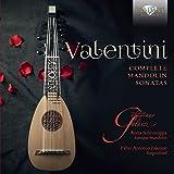 Robert Valentini - Intégrale des sonates pour mandoline. Ensemble Pizzicar Galante.