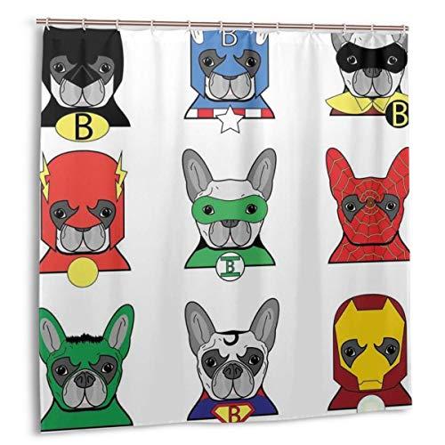 cortinas ducha superheroes