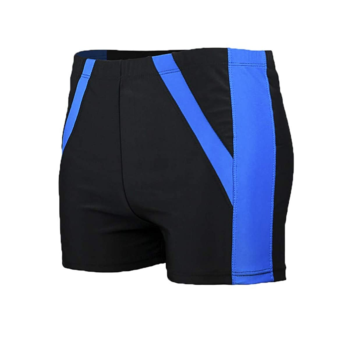 Sunyastor Plus Size Swimwear Men Basic Long Swimming Trunk Quick Dry Surf Camo Shorts Flat Angle Comfortable Beach Swimsuits