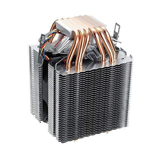 CHENHUA Ventilador de enfriamiento de Alto Rendimiento 6 Tubo de la CPU del Ordenador refrigerador Ventilador de radiador for Lag1156 / 1155/1150/775 AMD Intel