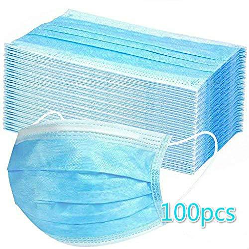 MHBY60/100 / 200pcs guardapolvo, bolsa sellada estándar, protección sanitaria, cubierta de polvo de tres capas con gancho para la oreja, 20 por bolsa