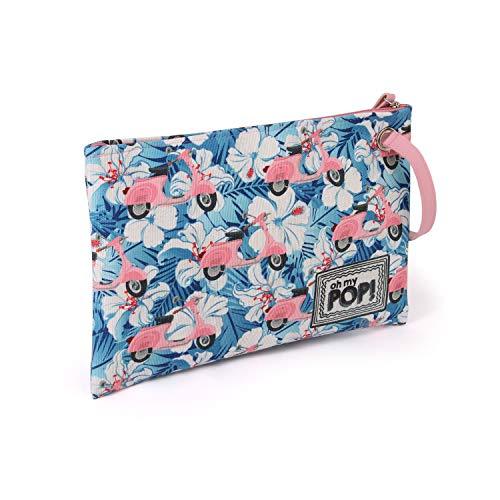 Oh My Pop! Pop! Pink Scooter-Sunny Kulturtasche Trousse de Toilette, 30 cm, Multicolore (Multicolour)