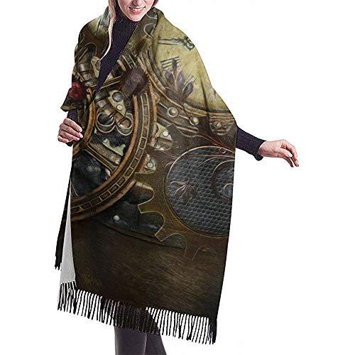 Dora Will Uhren Damen 'S Schal Wrap Winter Warmer Schal Cape Großer Schal Übergroße Schals