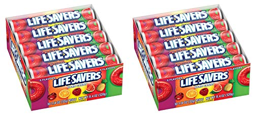 Life Savers Five Flavors Hard Candy, 1.14 Ounce (Pack of 20)