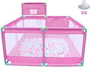 Infant Secure Playpen Toddler Crawling Fence Children s Play Fence Kids Safety Playpen Indoor Safety Play Yard Large Baby Playpen Folding and Portable